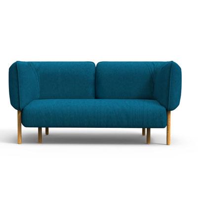 Bubbles Sofa - Cerulean Blue