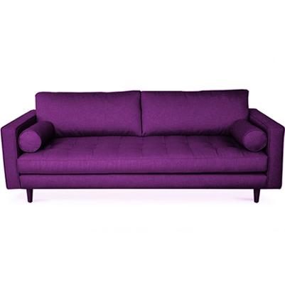 Seven Square Sofa - Purple
