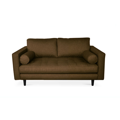 Seven Square Sofa - Brunette Brown