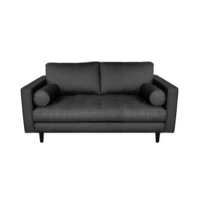 Seven Square Sofa - Graphite Grey