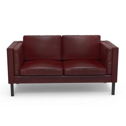 Retrogante Sofa - Mahogany