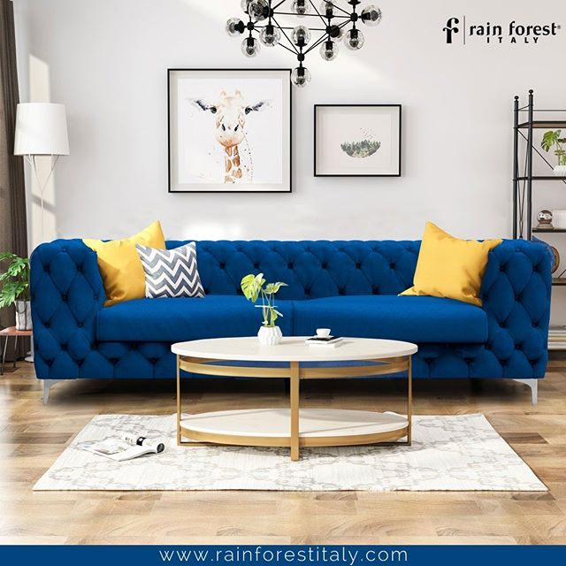 Anchor the Living Room with Best Quality Furniture