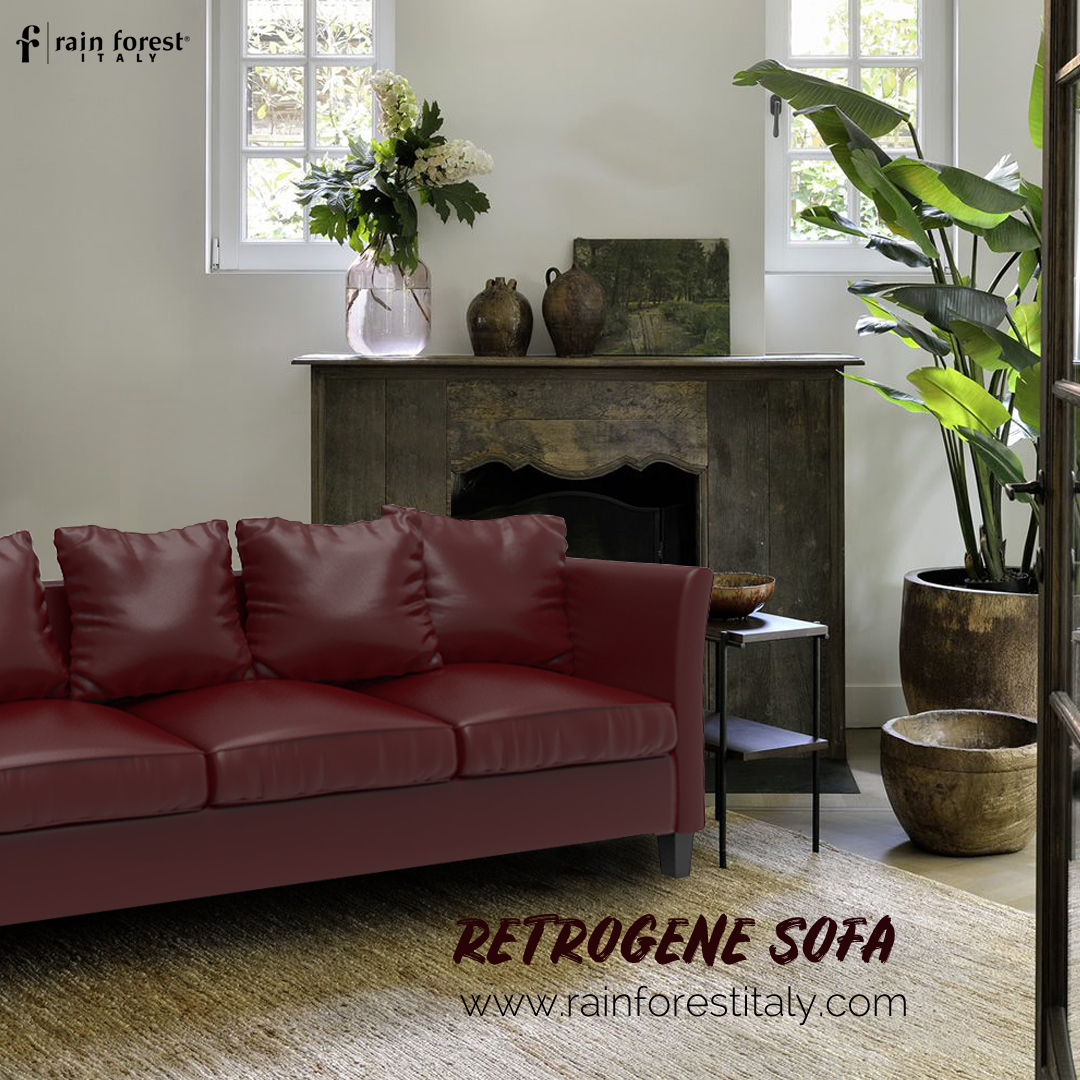 Classy Leather Sofa Set Designs from Rainforest Italy