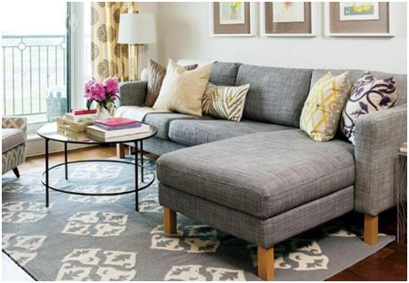Sofa set for the living room