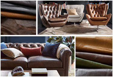 types of leather sofa