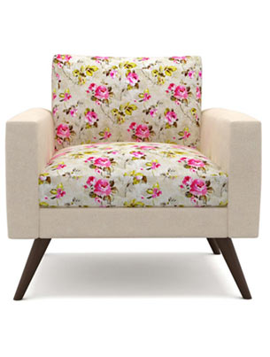 Dane Floral Sofa