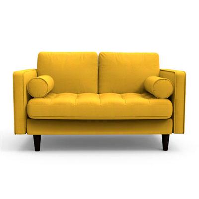 Canary Yellow Sofa