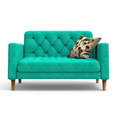 SANGOR Contemporary  Sofa - Blue