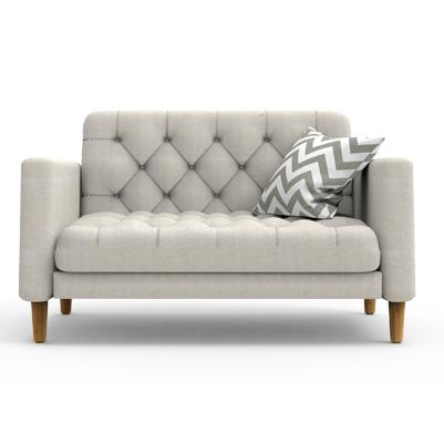 SANGOR Contemporary  Sofa - Bone White