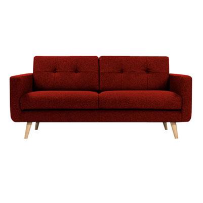U sofa - Scarlet Red