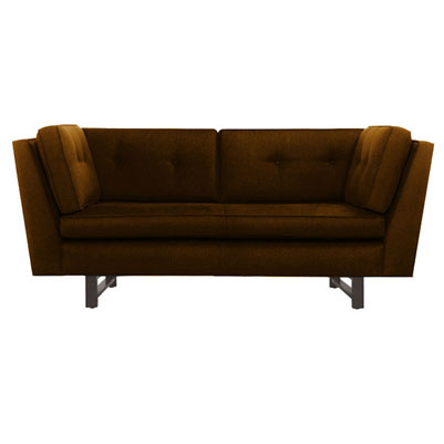 W sofa - Camel Brown