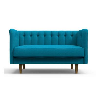 Fluky High back Sofa - Blue
